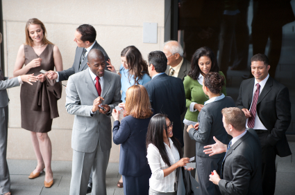 Networking with technology marketing writers
